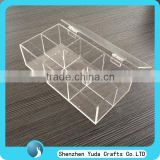 High quality clear acrylic box plastic box with cover,plexiglass candy box manufacturer price