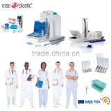 Plastic medical packaging tubes boxes for dental devider