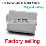 Rechargble Camera Battery LP-E5 Camera Battery Batteries for Canon 450D 500D 1000D KISSX2 KISSX3 Free Shipping