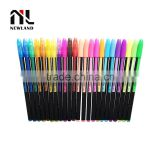 Plastic gel pen set 36/48 gel pen