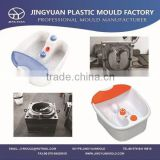 Good quality household therapy plastic foot spa bath tub moulds / heated foot massager molds made in china