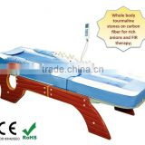 Electric Lift Massage Table / Full Body Tourmaline Thermal Jade Stone Massage Bed