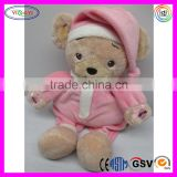 D299 Soft Electric Baby Animal Stuffed Recording Plush Toy Bear