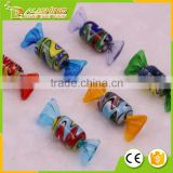 Wholesale glass hand painted glass candy ornaments/Glass candy ornaments christmas tree ornaments 003