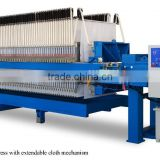 Solid And Liquid Suspension Program Controlled Filter Press With Extendable Cloth Machine