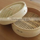 Golden supplier hight quality bamboo steamer basket,individual lid size 6inch,7inch,8inch,9inch,10inch,11inch,12inch
