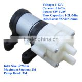R385 12V DC Diaphragm Pump for Fish Tank/Fan Cooling/Tea Machine