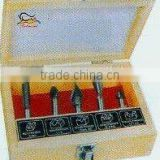 Tungsten carbide router bit--5pcs-set F (0803)