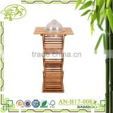 Bamboo folding table supermarket display table fashion table