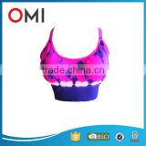 Sportswear Manufacturers Yoga Clothing Type Women Seamless Sports Bra with removable pad