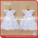 D9160 The new infant baptism dresses girl