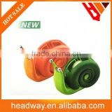 plastic snail shaped packaging tape dispenser