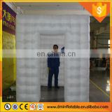 2016 Attractive Portable Lighted Inflatable Cube Photo Booth/Kiosk LED lighting inflatable photo booth for sale