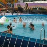 Giant Metal frame swimming pool water park
