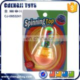 Newest educational toys wholeslae flash super spinning top toy for kids