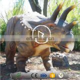 Mechanical Dinosaurs Real Life Size Dinosaur Statue for Amusement Park