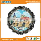Best Quality Praha Country Custom Tourist Souvenir Metal Plate