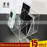 clear small acrylic business card storage box