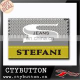 S logo stefani designer brand clothing labels for t-shirt jeans