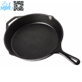 Hiseph cast iron pan skillet 3 set with handle HS-4 12