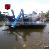 lowest Price hydraulic cutter suction dredger sale/river digging sand dredger/dredging machine