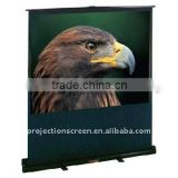 "100"" 4:3 Portable pull floor up screen"