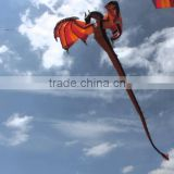 custom made beautiful giant commercial flying inflatable dragon kite for sale