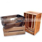 Wooden box,wooden storage box,wooden collection box