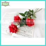 74cm single long stem artificial red roses