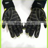 Impact/Super Oil Repellency gloves Hot selling cheap oil field work glove factory