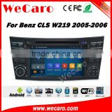 Wecaro WC-MB7501 android 5.1.1 gps navigation for mercedes for Benz CLS W219 CLS350 CLS500 CLS550 CLS55 CLS66 AMG radio dvd