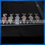 Blue Rhinestone Paw Charms,dog collar,diy letters