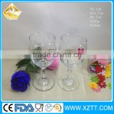 Low Price 180ml high ball wine glass/New product 200ml champagne wine glass