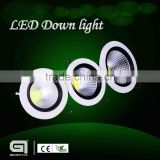 Newly designed Sharp dimmable LED downlight with 188mm cutout 12w led downlight with 2 years warranty