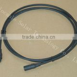 MC3 TUV approved cable insulation material XLPE halogen-free solar cable Assembly 2.5mm2/4mm2/6mm2