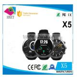 X5 touch screen mobile phone watch android wifi mtk2502 android smart watch