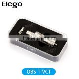OBS T-VCT atomizer!!! Top Filling E Cig OBS T-VCT 6.0ML with Bottom Triangle Dual Coil in stock