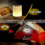 Rechargeable Mini Portable Smart Bluetooth Speaker Led Camping Lamp