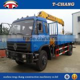 hot sale new 6.3ton swivel straight arm tractor mounted crane with ISO9001 certification