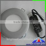 New Design Wholesale Price 12w Round LED Panel Light / Slim LED Panel In the curing / small LED panel light