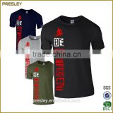 Hot sale breathable custom cheap t shirt with own logo printing for promotion                                                                         Quality Choice