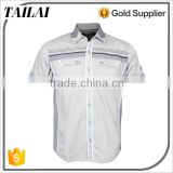 Apparel supplier Best selling Custom Men shirt slim fit