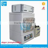 Laboratory nitrogen atmosphere muffle furnace with water chiller and mass flow controller