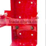 Red Steel Metal Wall Hanging Brackets For Fire Extinguisher