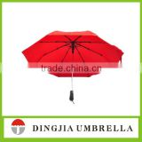 2015 new promotion red automatic open close fold umbrella customized make your own umbrella