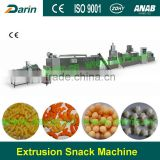 Cheese Puff Snack Production Line/corn Puffs Snack Food Processing Line/core-filling Snack Food Machine