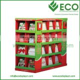 Supermarket Pallet Display, Paper Display For Retail, Christmas Greeting Card Display Stands