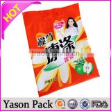 yason biodegradable plastic making machine back sealed bag for toilet wipes package big volume plastic bag in box