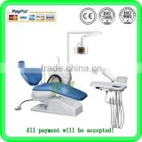 (MSLDU15) Economic 3-memory Program Dental Chair Unit With Led Sensor Lamp Light Cure And Scaler