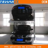 hydraulic two tier lifting,two tier lifting passenger lift,vehicle lifting passenger lift